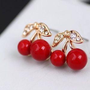 Cheery earrings